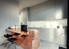 tamizo architects Loft, Tamizo Architects, Park Avenue Apartment, Flat Interior Design, Color Unit, Design Lab, Apartment Interior, Kitchen Dining, Dining Room