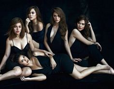 Cast of Camp Sawi ( Yassi, Andi, Kim, Arci and Bella) ctto
