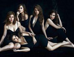Cast of Camp Sawi ( Yassi, Andi, Kim, Arci and Bella) ctto