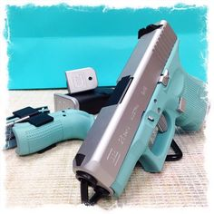 Aqua Blue Glock
