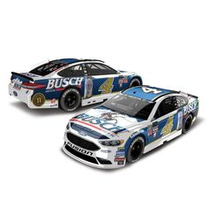 Kevin Harvick Action Racing 2017 2017 #4 Busch 1:24 Monster Energy NASCAR Cup Series Die-Cast Chevrolet SS