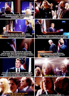 When the gloves came off. | 28 Jed Bartlet Moments We All Need To Be Reminded Of Right Now