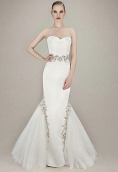 Bridal runway trend: ENZOANI Wedding Dresses
