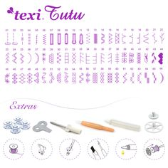 Texi Tutu - Computerized sewing machine, 66 stitch programs and extras.
