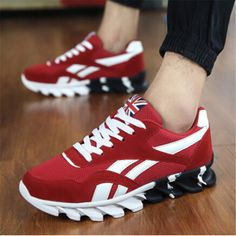 Canvas sports shoes men - British style sneakers - Casual mens trainers shoes