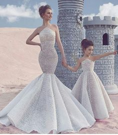dress, daughter, and beauty image