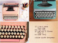 Revista TPM - Máquinas de escrever pra usar e decorar