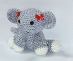 "Dumbo the Elephant 6.3""- Finished Amigurumi crochet doll toy Home decoration birthday anniversary gift"