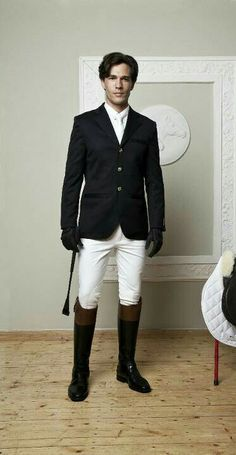 Riding outfit.