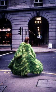 The Grass Coat was first displayed on the catwalk at the London Hippodrome as part of the Lynx Anti-Fur campaign, re-grown for an environmental fashion show in Dublin, 1995, and most recently displayed at Sotheby's, London, as part of the Outmoded Decorative Arts exhibition, 2001.