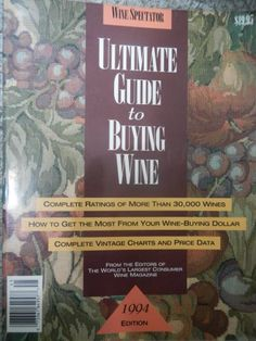 Wine Spectator Ultimate Guide to Buying Wine 1994 e ** Read more reviews of the product by visiting the link on the image.