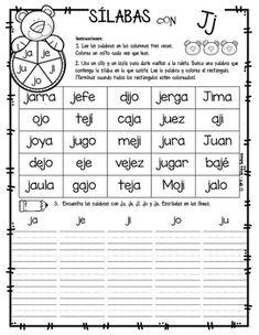 Yo aprendo las sílabas - Ruleta de palabras Pre K Activities, Reading Activities, Spanish Teaching Resources, Teacher Resources, Speech Language Therapy, Speech And Language, Phonological Awareness, Spanish Words, Bilingual Education