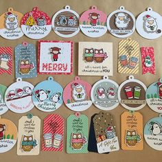 Christmas tag inspiration