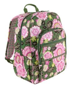 Vera bradley campus backpack in olivia pink (my sister has this)