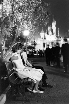 When is the last time you saw someone in a suit at Disneyland?    All Night Prom At Disneyland - 1961