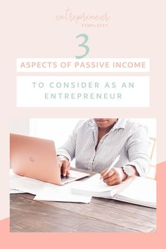 In this post, you are going to learn the top 3 aspects of passive income to consider as an entrepreneur in times of uncerntainty. Are you ready to earn money online and create multiple streams of income? Head on over to the blog to learn more about creating passive income in addition to your side hustle ideas and small business! #passiveincome #entrepreneurideas #passiveincomeideas Small Business Plan, Business Planning, Business Tips, Online Business, Multiple Streams Of Income, Income Streams, Creating Passive Income, Earn Money Online, Virtual Assistant