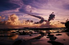 Dusk in Tufulega, Futuna Island