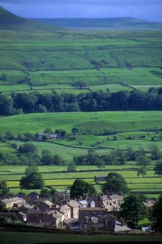 Askrigg, Yorkshire, England. This village is famous in the legends of 'All Creatures Great and Small. A house in the village was chosen to represent Skelldale House in the TV series