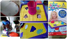 tubby table  http://mycharmedmom.com/2013/11/tubby-table-review/