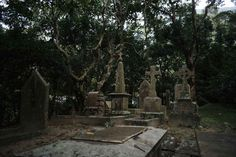 The cemeteries of Happy Valley arose out of what the British colonial forces considered a fever swamp.
