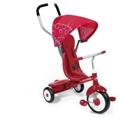 Radio Flyer 4-in-1 Trike, Red ($110) - compared this to other tricycles (primarily Kettler) and chose over them. Happy so far.