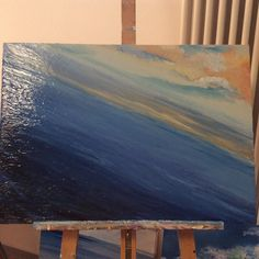 Work in progress FOR YELLOW orange blue LOVERS @italianmarinepainter http://ift.tt/2e7kRgH / ti piace il mare ? scegli il quadro che preferisci ! #seascapepaintings #seascapes #seascape_lovers #seascapepainting #etsypromo #etsysuccess #etsysuccess #etsyfavorite #etsymaker #etsyonsale #etsyonsale #etsystyle #etsygram #etsyshops #etsytribe #designersguild