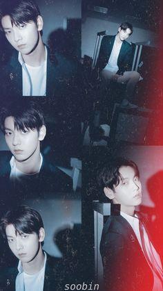 Aesthetic Lockscreens, Fall In Luv, Boy Celebrities, Korean People, Aesthetic Wallpapers, Boy Groups, Handsome, Wattpad, Cute