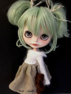 Its becoming an obsession now. OOAK Custom Blythe Doll Yvette Suedolls