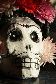 Paper Mache Frida Kahlo Craneo