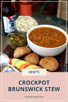 Check out this delicious Tennessee recipe for your next tailgating event. Tailgate food | Tennessee food | Comfort food | Stew recipe