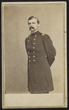 [Major General George Crockett Strong of U.S. Volunteers Infantry Regiment in uniform]