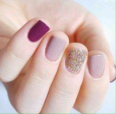 In seek out some nail designs and some ideas for your nails? Here's our set of must-try coffin acrylic nails for stylish women. Nagellack Design, Nails Polish, Gelish Nails, Dark Nails, Mauve Nails, Super Nails, Nagel Gel, Winter Nails, Spring Nails