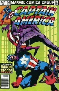 Captain America #254