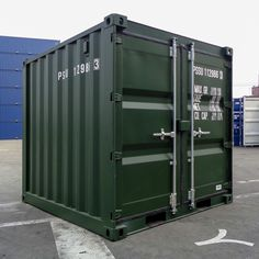 We have 8ft shipping containers available now! Container Sales, Containers For Sale, Shipping Containers, Uk Europe, Double Doors, Locker Storage, Van, Vans