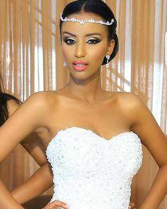 Queening. Makeup by @marzel__mua. #africansweetheartweddings #bride #beauty