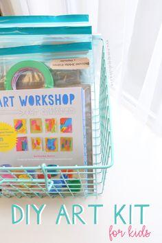 DIY Art Kit for Kids