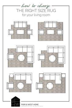 Living Room Size, Living Room Area Rugs, Living Room Sectional, Living Room Carpet, Room Rugs, Home Living Room, Living Room Interior, How To Living Room Rug, Living Room Decor