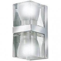 Ice Cube Dobbelt Vegglampe Klar - Fabbian | Google Shopping