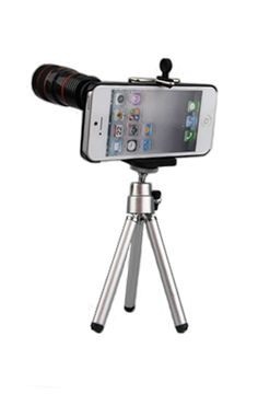 8x Telephoto Lens kit for iPhone 4/4S by Yamamoto Industries