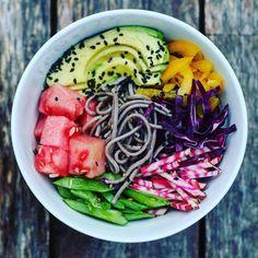 Buckwheat Noodle Bowl via @feedfeed on…