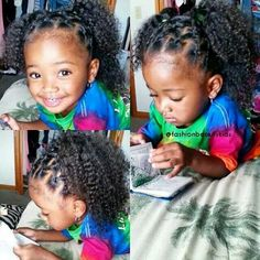 Pretty Brown Girl - Empower A Girl, Empower The World! Kids Curly Hairstyles, Natural Hairstyles For Kids, Black Girls Hairstyles, Cute Kids, Cute Babies, Baby Kids, Beautiful Black Babies, Beautiful Children, Baby Girl Fashion