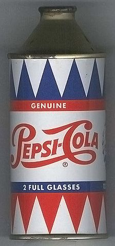 I don't know if this is an original Pepsi can or just something someone made, but it's pretty cool...