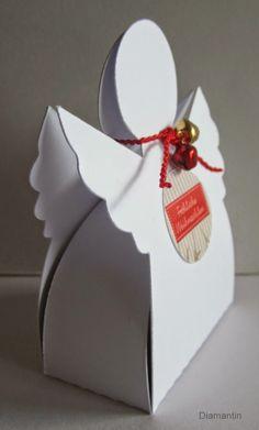 Kreativwettbewerb 2014  auf lisa-freundeskreis.de    Engelchen gefüllt mit einem Rocher                      Die Schneidedatei ist vo...