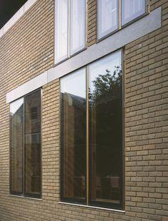 Caruso St John Downing College window