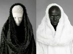 1bd97cc8 37 Best Black or White images   Faces, Albinism, Girls girls girls