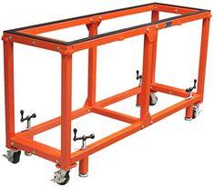 Workbench On Wheels, Steel Workbench, Diy Workbench, Mobile Workbench, Welding Bench, Welding Cart, Garage Workshop Organization, Diy Garage Storage, Welding And Fabrication
