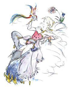 Final Fantasy 5 Princess Krile