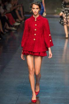 Dolce & Gabbana Spring 2014 RTW - Look 69