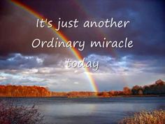 Ordinary Miracle---Sarah McLachlan---W/Lyrics - YouTube