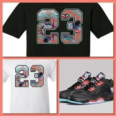 6fef44374e0 EXCLUSIVE SHIRT to match the AIR JORDAN 4 & 5 CNY CHINESE NEW YEAR  COLLECTION. Custom ShirtsCustom ...